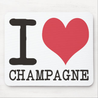 I Love Chicken - Champagne - Cocktail Products! Mouse Pad
