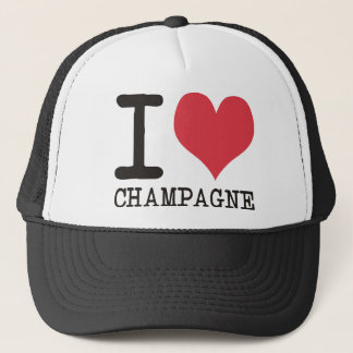 I Love Chicken - Champagne - Cocktail Products! Trucker Hat