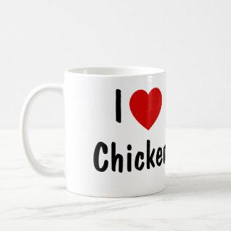 I Love Chicken Coffee Mug