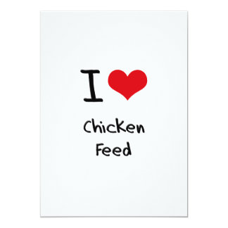 I love Chicken Feed Cards