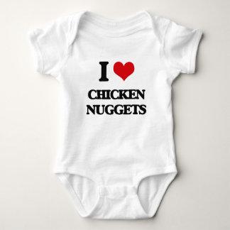I love Chicken Nuggets Baby Bodysuit