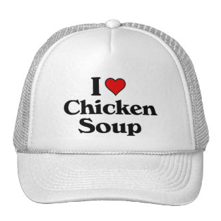 I love Chicken Soup Hats