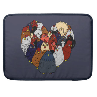 I Love Chickens Sleeve For MacBook Pro