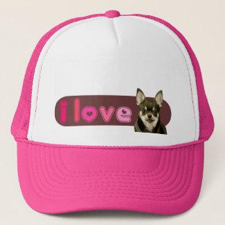 i Love Chihuahua Cap / Hat