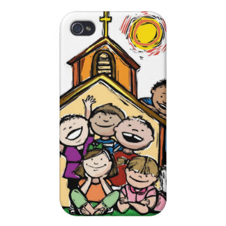 I Love Childrens Church iPhone 4/4S Covers