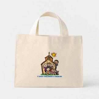I Love Children's Church! Mini Tote Bag