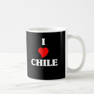 I Love Chile Coffee Mugs