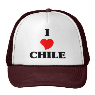 I Love Chile Hat