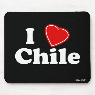 I Love Chile Mouse Pad
