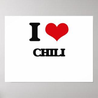 I love Chili Print