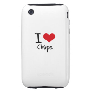 I love Chips Tough iPhone 3 Covers