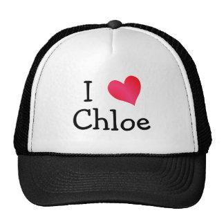 I Love Chloe Hats