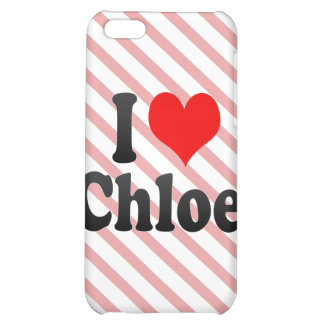 I love Chloe Case For iPhone 5C