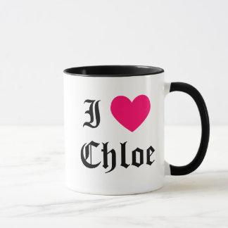 I Love Chloe Mug