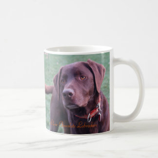 I Love Chocolate Labradors Mug