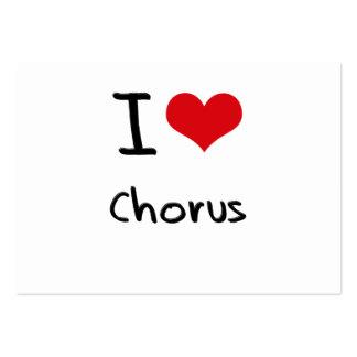 I love Chorus Business Card Template