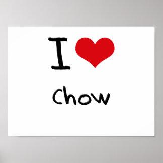 I love Chow Print