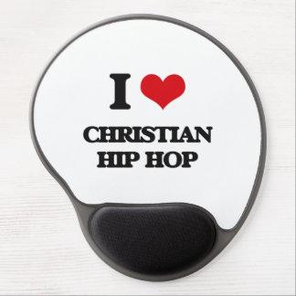 I Love CHRISTIAN HIP HOP Gel Mouse Mats