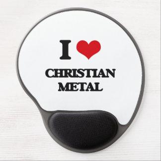 I Love CHRISTIAN METAL Gel Mouse Pads