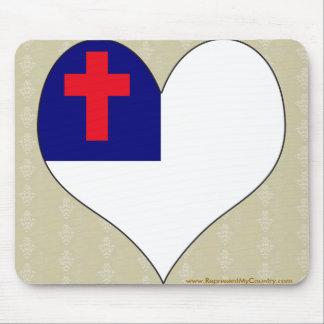 I Love Christian Mousepads