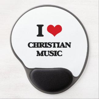 I Love CHRISTIAN MUSIC Gel Mousepads