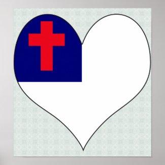 Christian Poster: I Love Christian