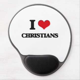 I love Christians Gel Mouse Pad