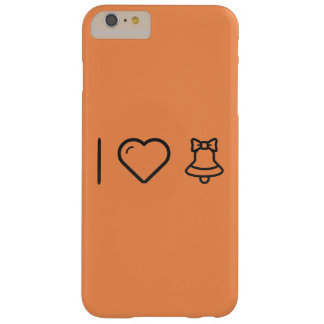 I Love Christmas Bells Barely There iPhone 6 Plus Case