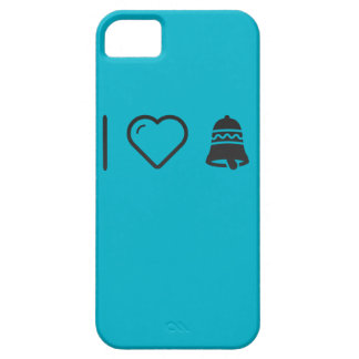 I Love Christmas Bells iPhone 5 Covers