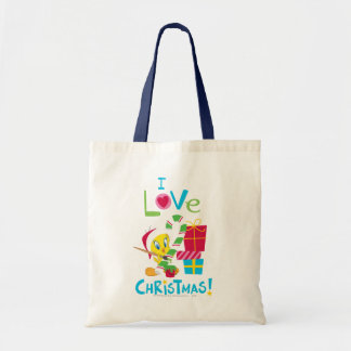 I Love Christmas - TWEETY™ Budget Tote Bag