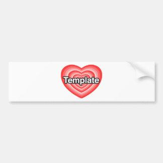 I love Christopher. I love you Christopher. Heart Bumper Sticker
