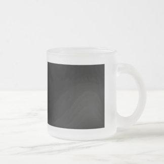 I love Chubby Frosted Glass Mug