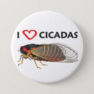 """I Love Cicada"" Button"