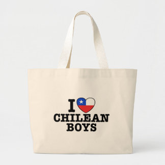 I Love Cilean Boys Tote Bags