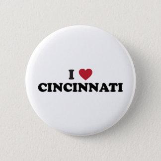 I love Cincinnati Ohio 6 Cm Round Badge