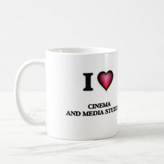 I Love Cinema And Media Studies Coffee Mug