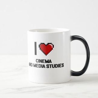 I Love Cinema And Media Studies Digital Design Morphing Mug