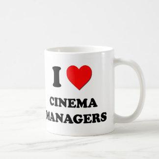 I Love Cinema Managers Mug