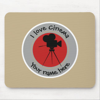 I love Cinema Mouse Pad
