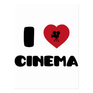 I Love Cinema Postcard