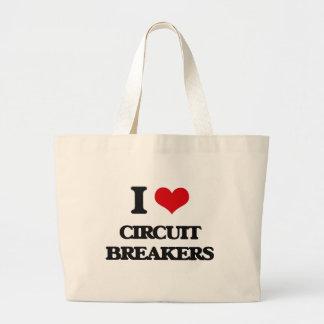 I love Circuit Breakers Tote Bags