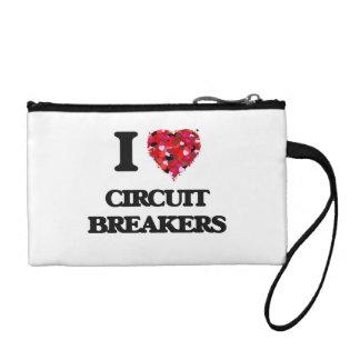 I love Circuit Breakers Coin Purses
