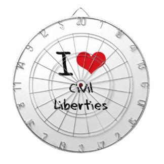 I love Civil Liberties Dart Board