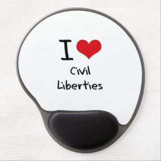 I love Civil Liberties Gel Mouse Pad