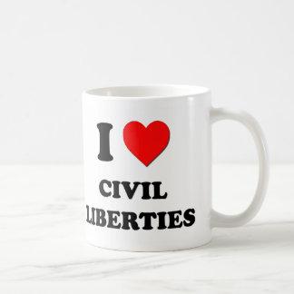 I love Civil Liberties Mug