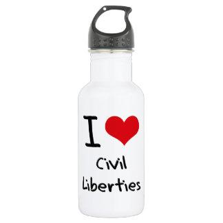 I love Civil Liberties 18oz Water Bottle