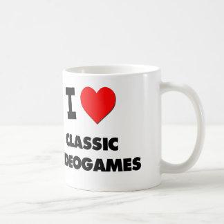 I Love Classic Videogames Coffee Mug