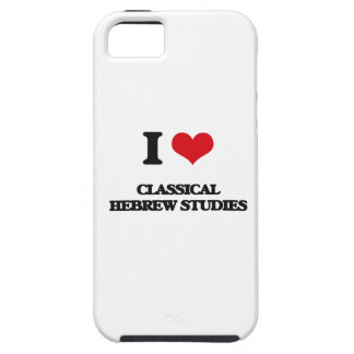 I Love Classical Hebrew Studies Case For The iPhone 5