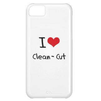 I love Clean-Cut iPhone 5C Case