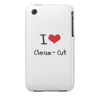I love Clean-Cut iPhone 3 Case-Mate Cases